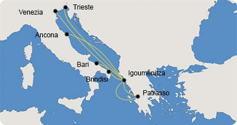 traghetti ancona - isole greche